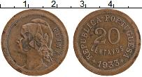Продать Монеты Португальская Гвинея 20 сентаво 1933 Медь