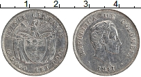 Изображение Монеты Колумбия 20 сентаво 1941 Серебро XF Симон Боливар