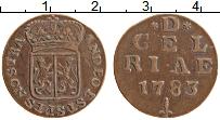 Продать Монеты Голландия 1 дьюит 1768 Медь