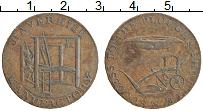 Изображение Монеты Великобритания 1/2 пенни 1794 Медь XF Токен. Хейверхилл