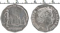 Изображение Монеты Австралия 50 центов 2005 Медно-никель XF Елизавета II.Мировая