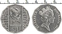 Изображение Монеты Австралия 50 центов 1995 Медно-никель XF Елизавета II.Данлоп