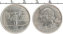 Изображение Монеты США 1/4 доллара 1999 Медно-никель UNC- P. Дж.Вашингтон. Шта