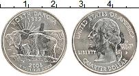 Изображение Монеты США 1/4 доллара 2006 Медно-никель UNC- Р Севверная Дакота