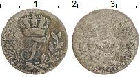 Изображение Монеты Швеция 1 эре 1733 Серебро VF Фредрик I