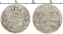 Изображение Монеты Швеция 1 эре 1742 Серебро VF Фредрик I