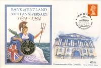 Изображение Подарочные монеты Великобритания 2 фунта 1994 Латунь UNC