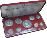 Изображение Подарочные монеты Багамские острова Выпуск 1972 года 1972  Proof