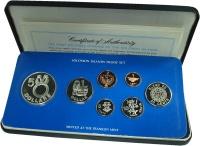 Изображение Подарочные монеты Соломоновы острова Выпуск 1977 1977  Proof