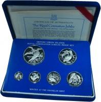 Изображение Подарочные монеты Виргинские острова Выпуск 1978 года 1978 Серебро Proof