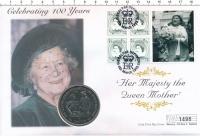 Изображение Подарочные монеты Гибралтар 1 крона 1999 Медно-никель UNC
