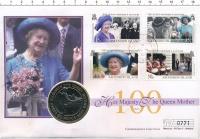 Изображение Подарочные монеты Остров Вознесения 50 пенсов 1995 Медно-никель UNC