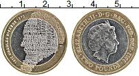 Изображение Монеты Великобритания 2 фунта 2012 Биметалл XF Чарльз Диккенс