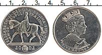Изображение Монеты Великобритания 5 фунтов 2002 Медно-никель UNC- Елизавета II. 50 лет