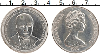 Изображение Монеты Остров Мэн 1 крона 1974 Медно-никель UNC- Елизавета II. 100 ле
