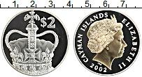 Продать Монеты Каймановы острова 2 доллара 2002 Серебро