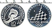 Изображение Монеты Италия 5 евро 2005 Серебро Proof Олимпийские игры в Т