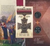 Изображение Подарочные монеты Великобритания Крест Виктории 2006 Медно-никель UNC