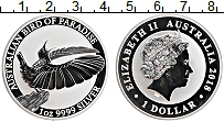 Изображение Монеты Австралия 1 доллар 2018 Серебро Proof