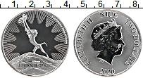 Изображение Монеты Ниуэ 2 доллара 2020 Серебро Proof- Король-Лев