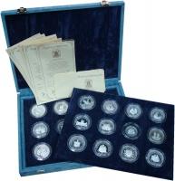 Изображение Подарочные монеты Тувалу Королева-мать 0 Серебро Proof