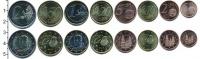 Изображение Наборы монет Испания Испания 2014 2014  XF В наборе 8 монет ном