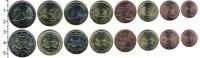 Изображение Наборы монет Литва Литва 2015 2015  XF