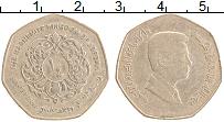 Изображение Монеты Иордания 1/4 динара 2008 Латунь XF Абдалла II