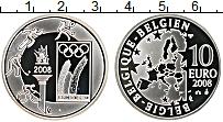 Продать Монеты Бельгия 10 евро 2008 Серебро