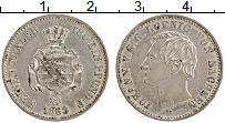 Изображение Монеты Саксония 1/6 талера 1863 Серебро UNC- Иоганн
