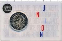 Изображение Подарочные монеты Франция 2 евро 2020 Биметалл UNC Медицинские исследов