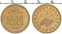 Изображение Монеты США Жетон 0 Латунь XF Игровой жетон