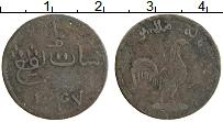 Изображение Монеты Малайзия 1 кеппинг 1831 Медь XF Британская Малакка.О