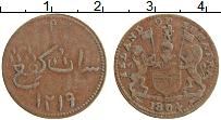 Изображение Монеты Нидерландская Индия 1 кеппинг 1804 Медь XF Суматра