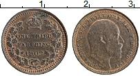 Изображение Монеты Великобритания 1/3 фартинга 1902 Бронза UNC- Эдуард VII