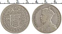 Изображение Монеты Новая Зеландия 1/2 кроны 1934 Серебро XF Георг V