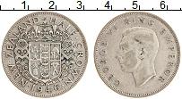 Изображение Монеты Новая Зеландия 1/2 кроны 1946 Серебро XF Георг VI