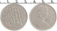Изображение Монеты Новая Зеландия 50 центов 1967 Медно-никель XF Елизавета II.