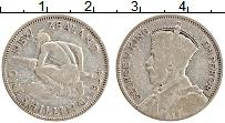 Изображение Монеты Новая Зеландия 1 шиллинг 1934 Серебро XF- Георг V