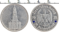 Изображение Монеты Третий Рейх 5 марок 1935 Серебро XF G