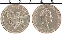 Изображение Монеты Великобритания 2 фунта 1986 Латунь UNC- XIII Игры Cодружеств