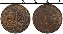 Изображение Монеты Сьерра-Леоне 1 цент 1964 Медь XF Милтон Маргаи