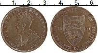 Изображение Монеты Остров Джерси 1/12 шиллинга 1911 Медь XF Георг V