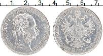 Изображение Монеты Австрия 2 флорина 1882 Серебро XF Франс Иосиф I