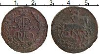 Изображение Монеты 1762 – 1796 Екатерина II 1 копейка 1789 Медь VF+ ЕМ