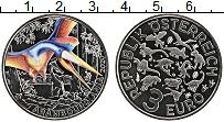 Изображение Мелочь Австрия 3 евро 2020 Медно-никель UNC Динозавры - Арамбург