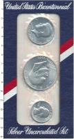 Изображение Подарочные монеты США Выпуск 1976 года 1976 Серебро UNC