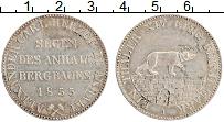 Продать Монеты Анхальт 1 талер 1852 Серебро