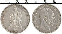 Изображение Монеты Пруссия 1 талер 1871 Серебро XF А. Победа над Франци