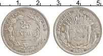 Изображение Монеты Коста-Рика 25 сентаво 1893 Серебро XF